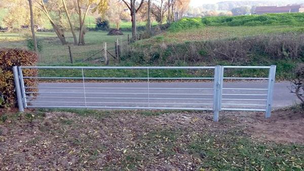 Grote foto landhek weidepoort schapenhek 5 mtr tuin en terras hekken en schuttingen