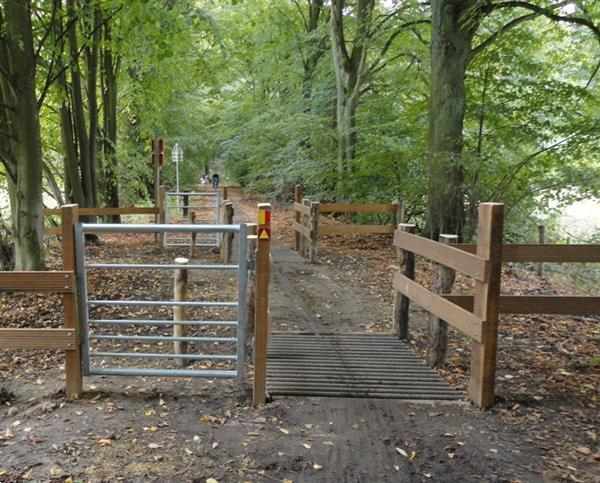 Grote foto landhek weidepoort schapenhek 1 2 mtr tuin en terras hekken en schuttingen