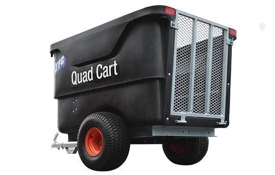 Grote foto offroad quad aanhangwagen veetrailer met klep voor schapen motoren buggy en quad