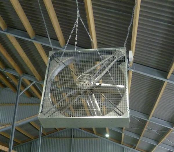Grote foto stalventilator 1 4 mtr 380v 1 pk 0 75kw met 6 bladen agrarisch mechanisatie