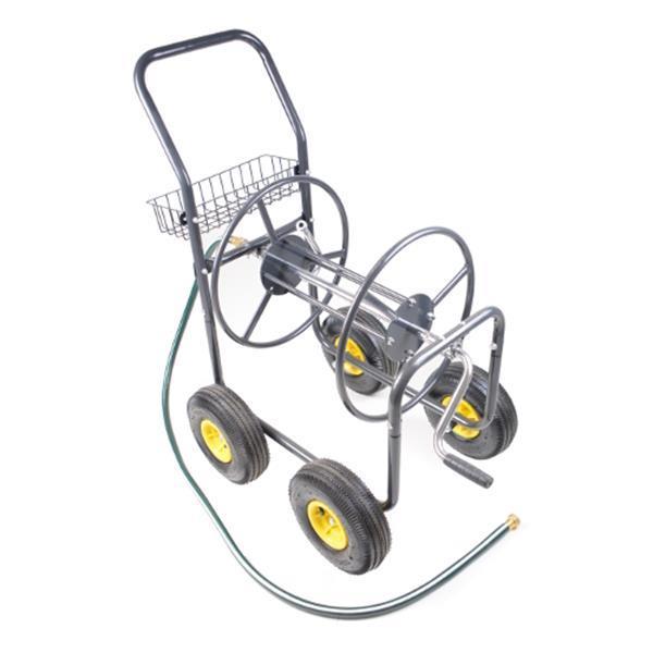 Grote foto slangenwagen haspelwagen met 4 luchtbandwielen agrarisch mechanisatie