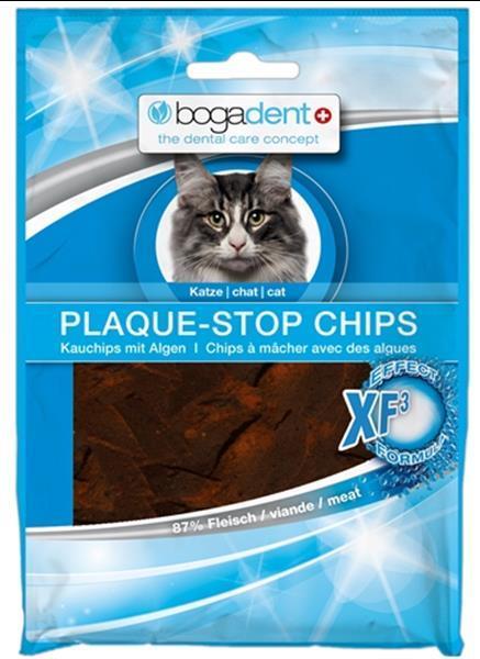 Grote foto bogadent plak stop chips kat 50 gr dieren en toebehoren katten accessoires
