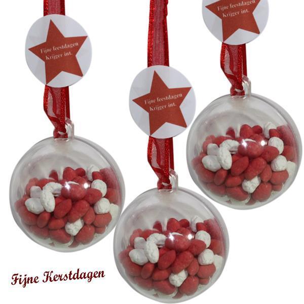 Grote foto doorzichtige ballen ongelofelijk laag geprijst diversen kerst