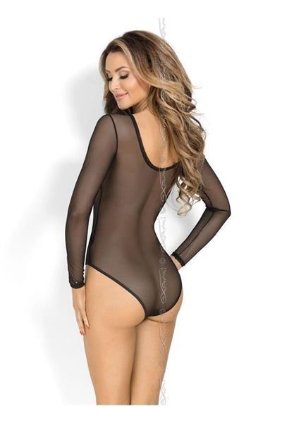 Grote foto zwarte body doorzichtig maat s kleding dames ondergoed