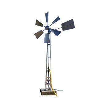 Grote foto waterwindmolen waterpomp op windenergie dieren en toebehoren overige