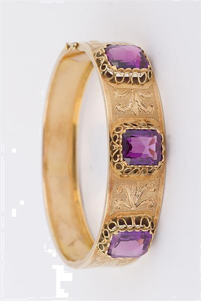 Grote foto bewerkte armband met synth. korund sieraden tassen en uiterlijk armbanden voor haar