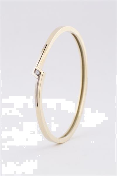 Grote foto wit geel gouden slaven armband met briljant sieraden tassen en uiterlijk armbanden voor haar