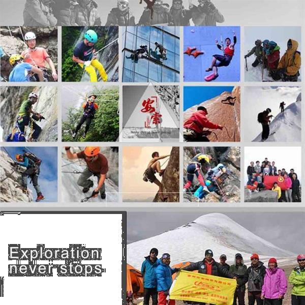 Grote foto outdoor klimmen wandelen accessoires high strength auxiliary caravans en kamperen kampeertoebehoren
