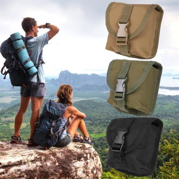 Grote foto outdoor sports key gadgets nylon phone bag green caravans en kamperen kampeertoebehoren