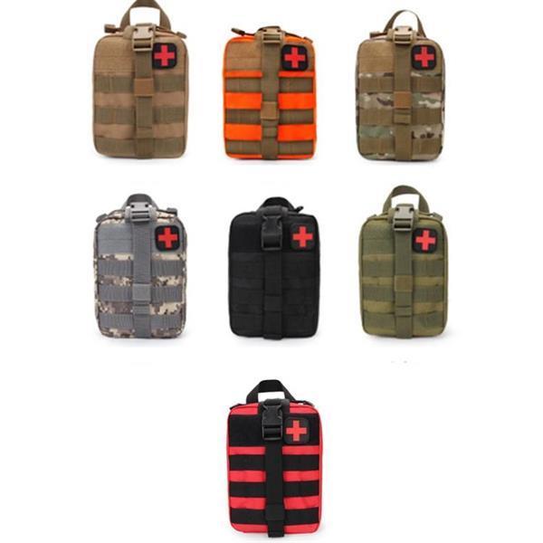 Grote foto outdoor travel portable first aid kit groen caravans en kamperen kampeertoebehoren