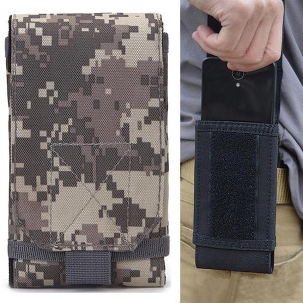 Grote foto stylish outdoor water resistant fabric cell phone case size caravans en kamperen kampeertoebehoren