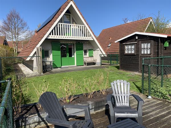 Grote foto vakantiehuisje te huur met sauna aan lauwersmeer vakantie nederland noord