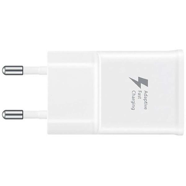 Grote foto samsung micro usb fast charger ep ta20eweug 2a white telecommunicatie opladers en autoladers