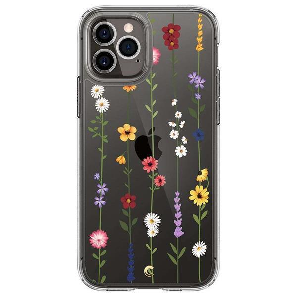Grote foto spigen cyrill cecile apple iphone 12 pro max hoesje flower telecommunicatie apple iphone
