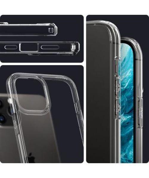 Grote foto spigen crystal hybrid apple iphone 12 12 pro hoesje mint gro telecommunicatie apple iphone