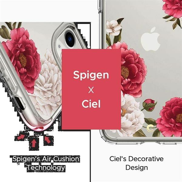 Grote foto spigen cyrill cecile apple iphone 11 pro max hoesje red fl telecommunicatie apple iphone