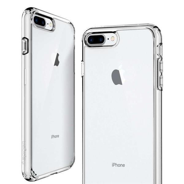 Grote foto spigen ultra hybrid 2 apple iphone 7 8 plus hoesje transpara telecommunicatie apple iphone
