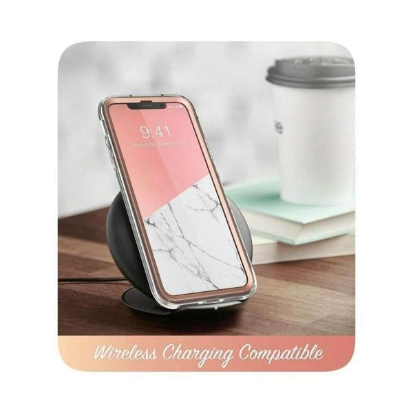 Grote foto supcase cosmo apple iphone 11 pro max hoesje marmer telecommunicatie apple iphone