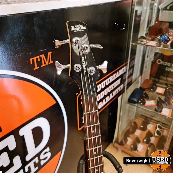 Grote foto ibanez soundgear mikro bas gitaar gsrm20 rood in nette sta muziek en instrumenten gitaren akoestisch