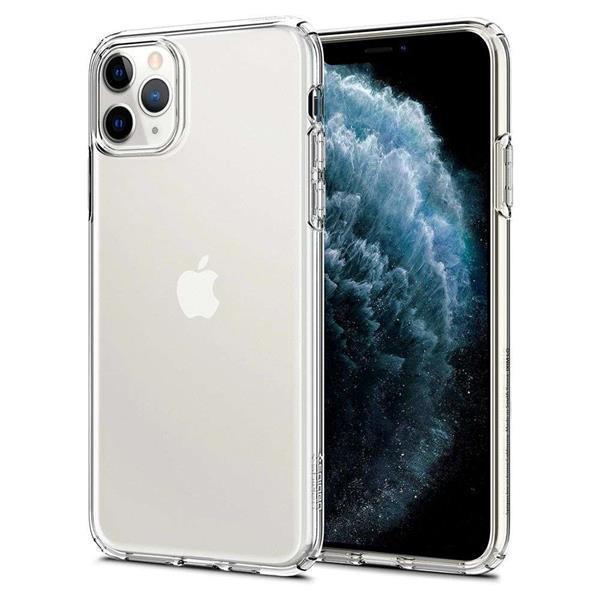 Grote foto apple iphone 11 pro max spigen liquid crystal hoesje transpa telecommunicatie apple iphone