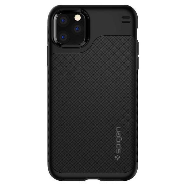Grote foto apple iphone 11 pro max spigen hybrid nx hoesje zwart telecommunicatie apple iphone