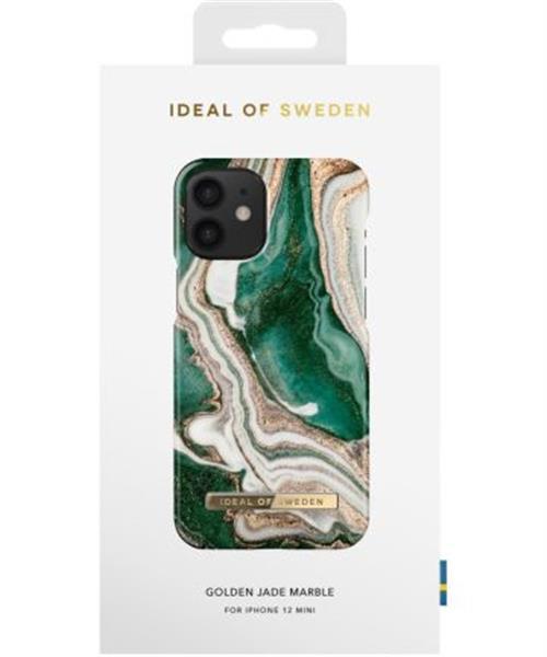 Grote foto ideal of sweden fashion iphone 12 mini hoesje golden jade ma telecommunicatie apple iphone