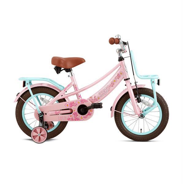 Grote foto supersuper lola meisjesfiets 14 inch fietsen en brommers kinderfietsen