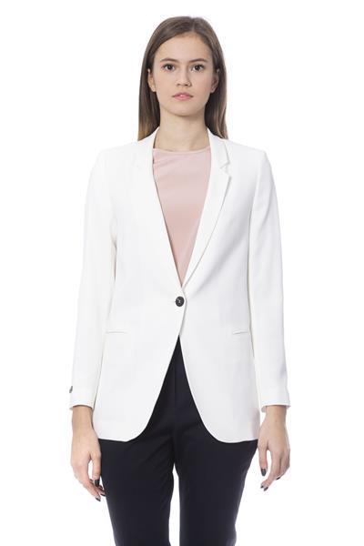 Grote foto peserico bianco jackets coat it42 s kleding dames jassen zomer