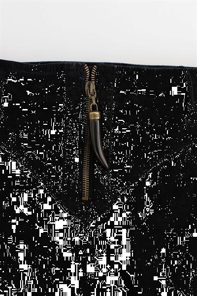 Grote foto cavalli black corduroy pencil skirt it40 s kleding dames jurken en rokken