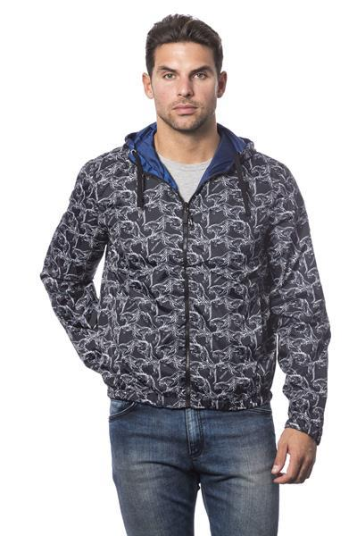Grote foto roberto cavalli sport dk navy jacket xxs kleding heren jassen zomer