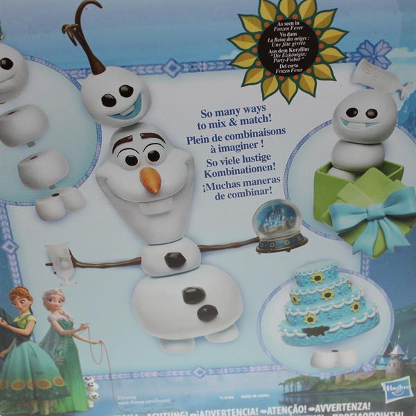 Grote foto frozen fever speelset kinderen en baby kinderspulletjes