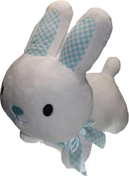 Grote foto groot knuffel konijn wit kinderen en baby kinderspulletjes