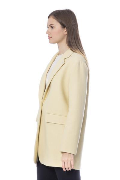 Grote foto peserico giallo jackets coat it42 s kleding dames jassen zomer