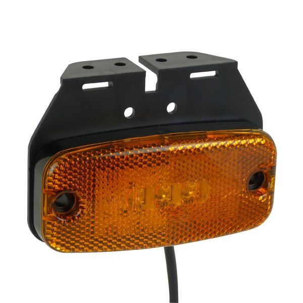 Grote foto carpoint led markeringslamp oranje 9 32v 0413965 caravans en kamperen caravan accessoires