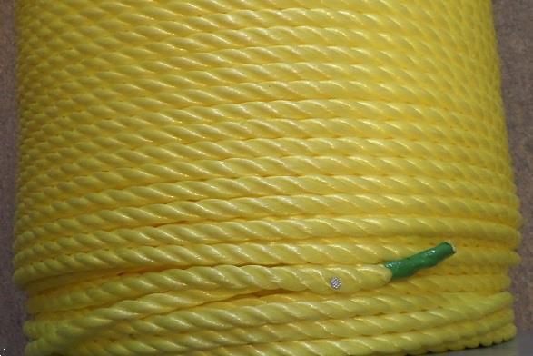 Grote foto polyprop 16 mm dik kleur geel. 0 60 per meter agrarisch onderdelen en accessoires