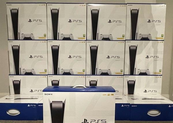 Grote foto nieuwe sony ps5 disc edition console spelcomputers games overige
