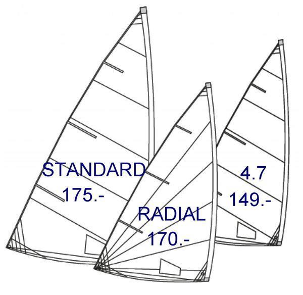 Grote foto xd parts voor laser trim sets zeilen enz watersport en boten open zeilboten