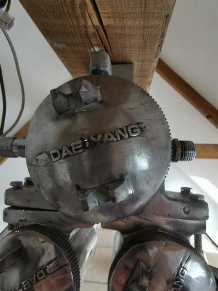 Grote foto dae yang lamp olietanker antiek en kunst lampen