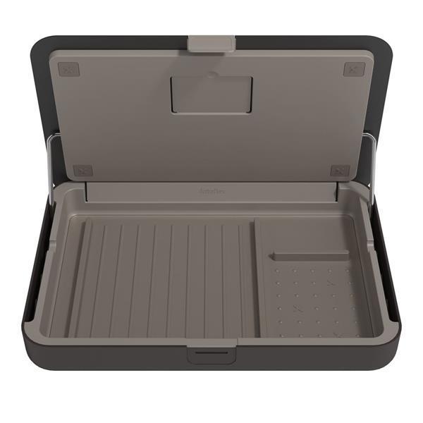 Grote foto laptopstandaard ergonomische toolbox zwart dataflex bento computers en software overige computers en software