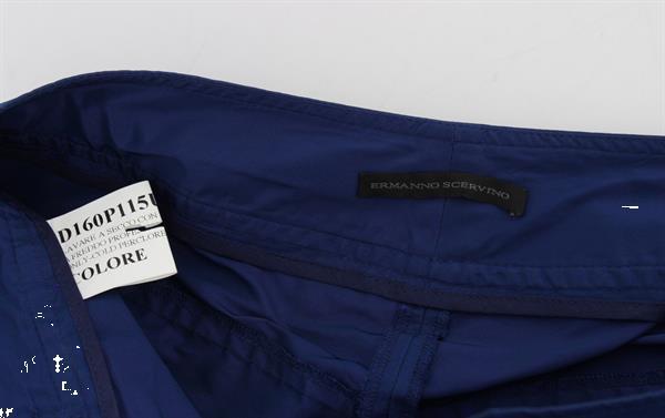 Grote foto ermanno scervino blue above knees bermuda shorts it40 s kleding dames broeken en pantalons