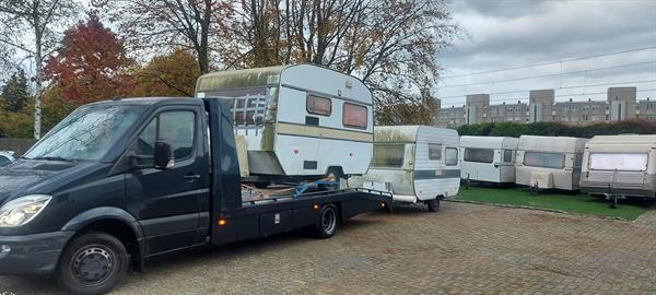 Grote foto gratis afvoer van uw oude caravan en vouwwagen caravans en kamperen caravan