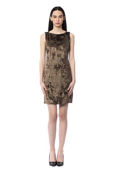 Grote foto byblos cacao dress it42 s kleding dames jurken en rokken