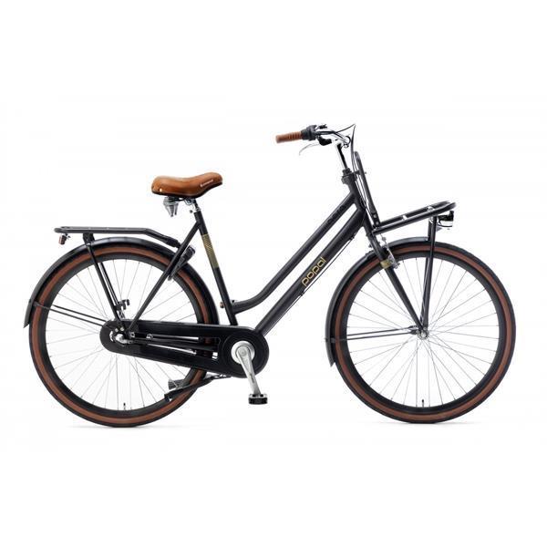 Grote foto popal 2838n3 2838n3 57 zwart fietsen en brommers damesfietsen