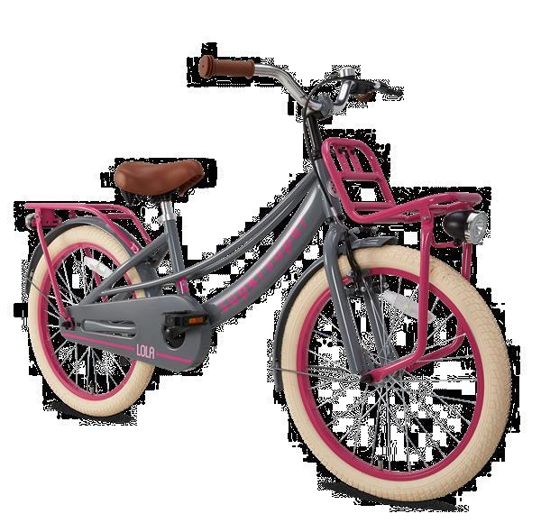 Grote foto supersuper lola 20 s2059 gr roze fietsen en brommers kinderfietsen