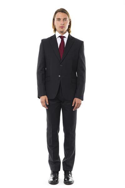 Grote foto uominitaliani ugrigio suit it52 l kleding heren kostuums en colberts