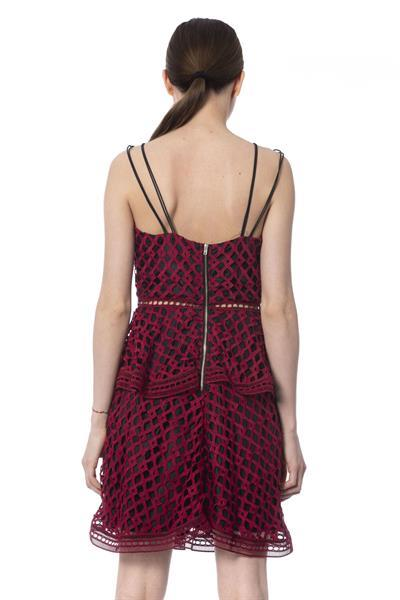 Grote foto silvian heach red dress xs kleding dames jurken en rokken