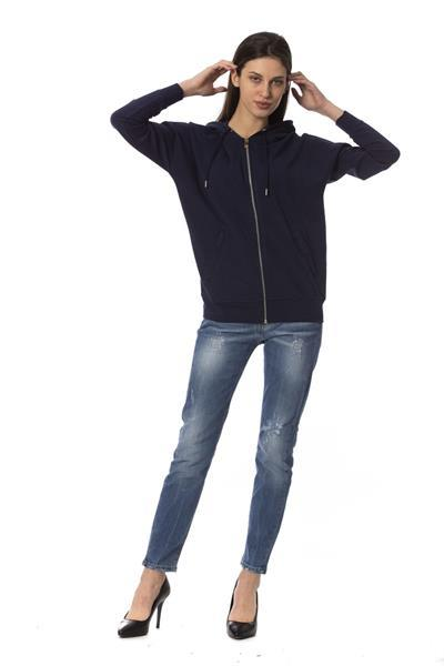 Grote foto frankie morello blupavone sweater xs kleding dames truien en vesten
