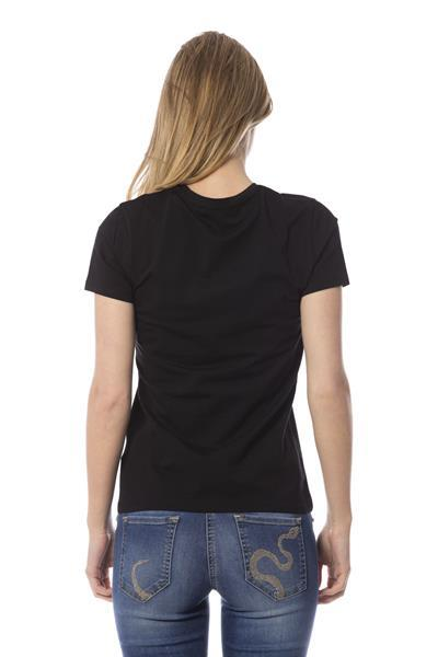 Grote foto roberto cavalli nero tops t shirt s kleding dames t shirts