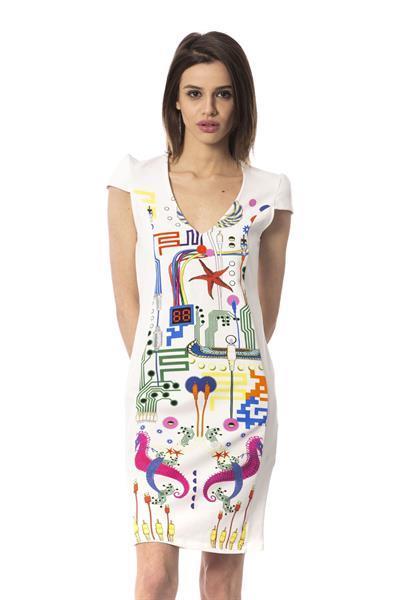 Grote foto frankie morello wonderland dress xs kleding dames jurken en rokken