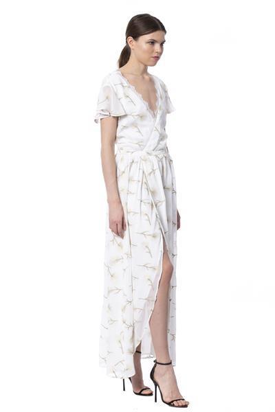 Grote foto silvian heach white dress xs kleding dames jurken en rokken